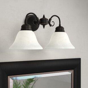 Where buy  Whitbeck 2-Light Vanity Light By Fleur De Lis Living
