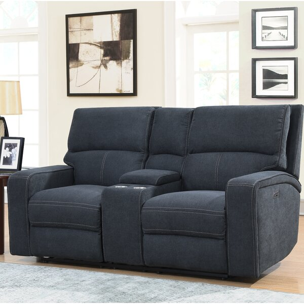 Price Comparisons For Stephan Reclining Loveseat by Ebern Designs by Ebern Designs