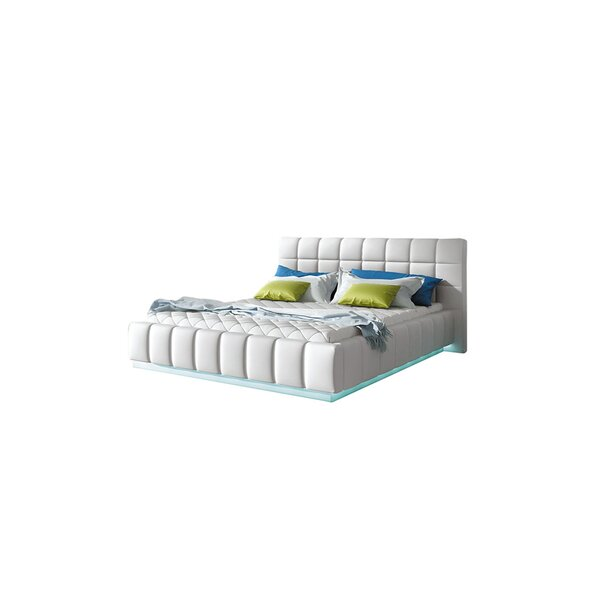 Bordeaux King Upholstered Storage Platform Bed with Mattress by Orren Ellis