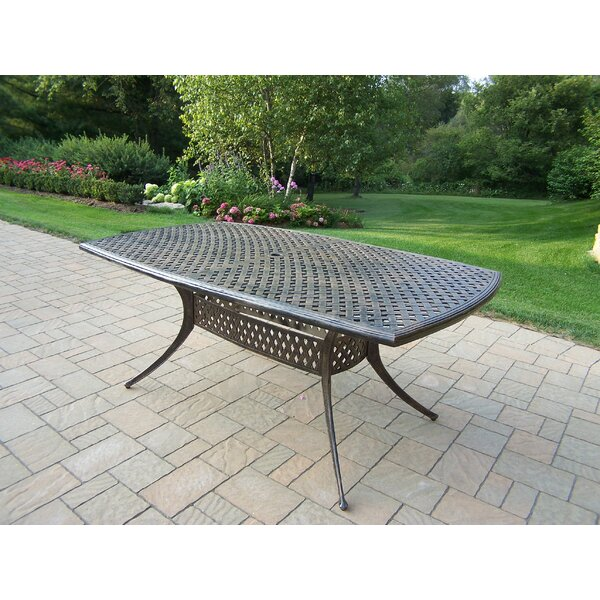 Stone Art Metal Dining Table by Oakland Living