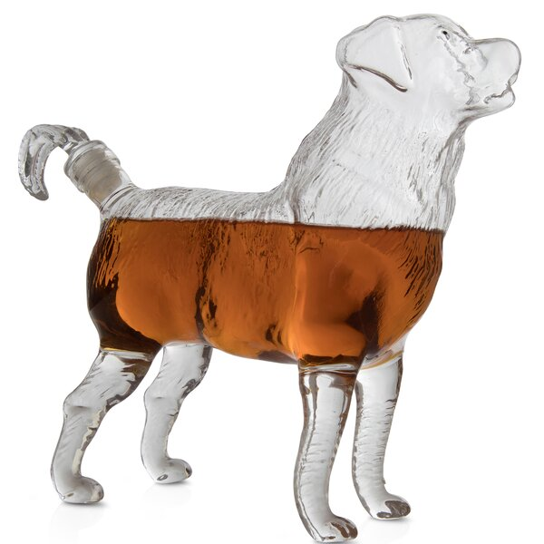 Betio Dog 25.36 oz. Decanter by Darby Home Co