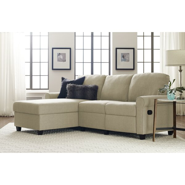 Cool Trendy Copenhagen Reclining Sectional by Serta at Home by Serta at Home