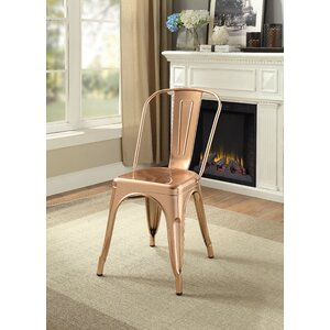 Hufford Upholstered Dining Chair (Set of 2) Latitude Run