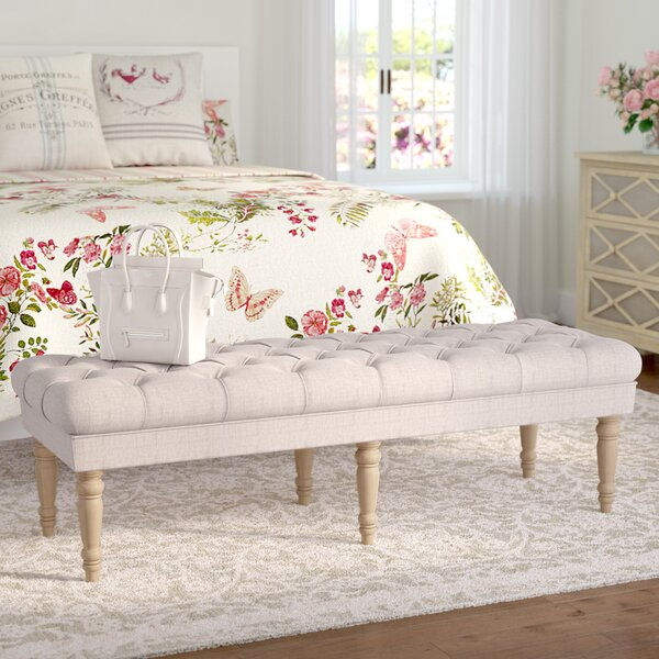 Paulus Upholstered Bench by Lark Manor