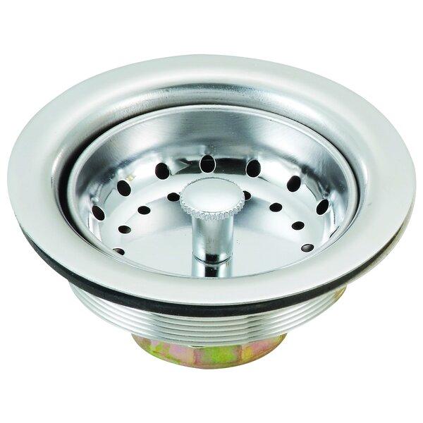 3.5 Grid Kitchen Sink Drain by Laguna Brass