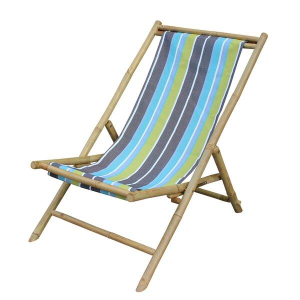 Folding Beach Chair by ZEW Inc