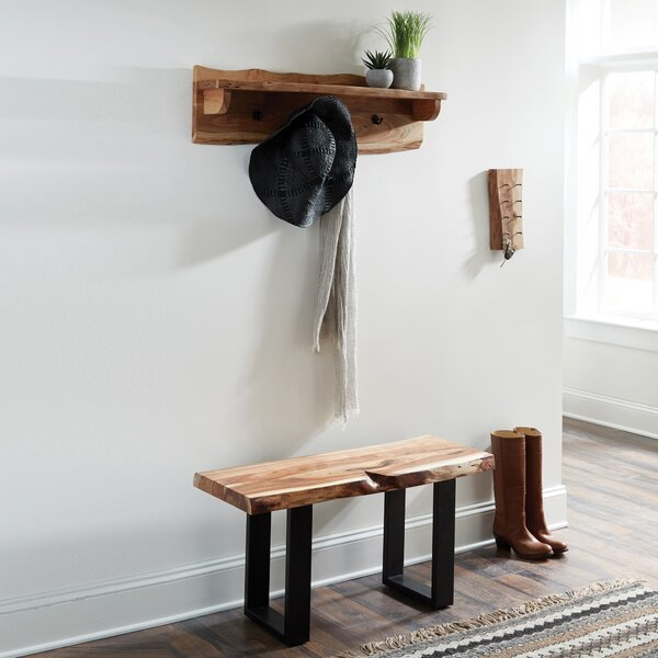 Bexton Wood Bench by Foundry Select