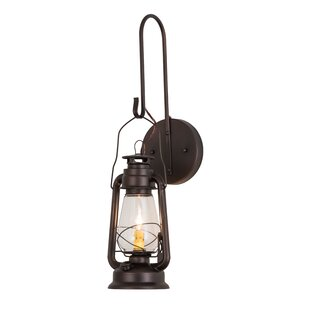 Buy luxury Yonker Outdoor Wall Lantern By Loon Peak