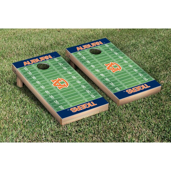 NCAA Football Field Version Cornhole Game Set by V