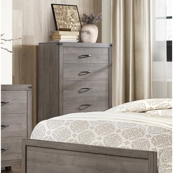 Embree 5 Drawer Chest by Millwood Pines