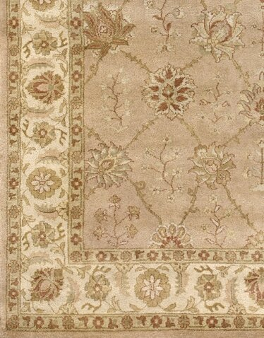 Zambrano Wool Biege Area Rug by Astoria Grand