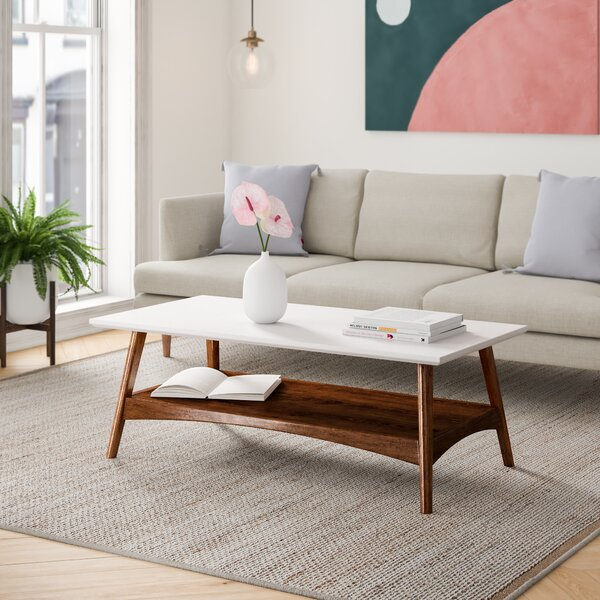 Arlo Coffee Table With Storage By Foundstone