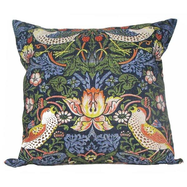 Dimick Birds Throw Pillow by Bungalow Rose