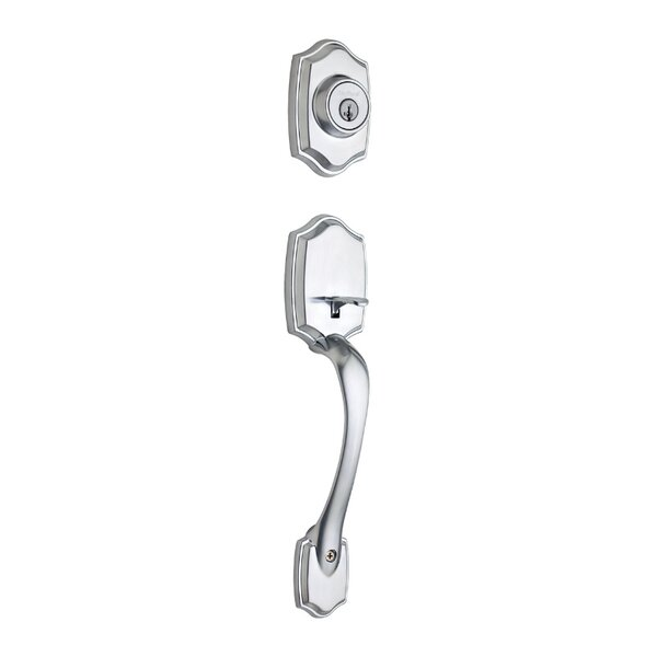 Belleview Single Cylinder Entrance Handleset, Exterior Handle Only by Kwikset