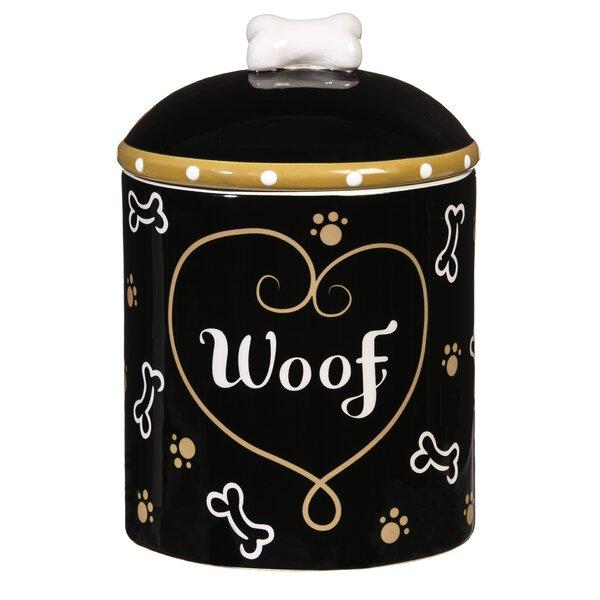 Ceramic Pet Treat Jar by Wrought Studio