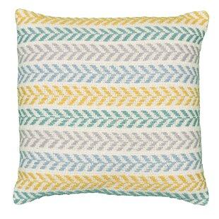 Galilea Chevron Cotton Throw Pillow