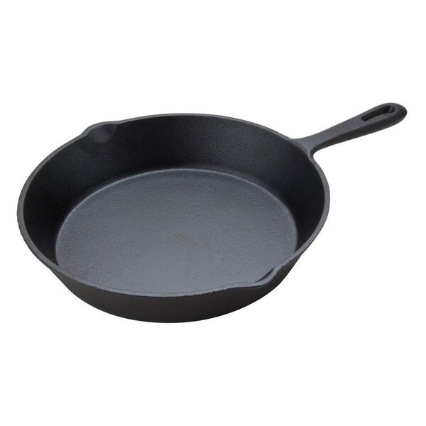 Seasoned Cast Iron 8 Non-Stick Frying Pan by Imperial Home