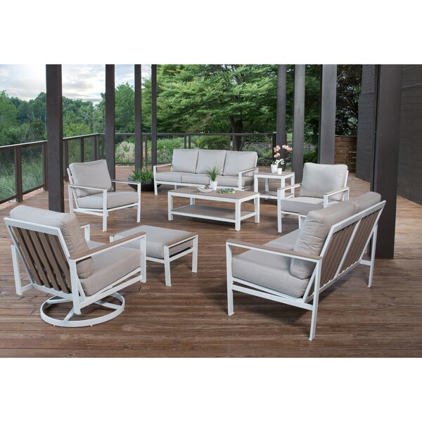 Echo 8 Piece Seating Group with Cushions by Winston