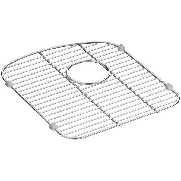 Langlade Smart Divide Stainless Steel Sink Rack for Left-Hand Bowl by Kohler