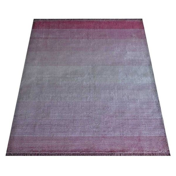 Ry Hand-Woven Pink Area Rug by Latitude Run