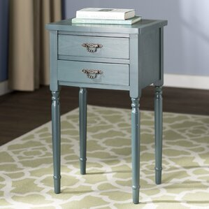 Marilyn End Table by Alcott Hill
