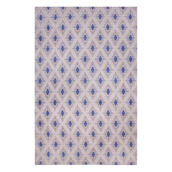Rosalida Hand Woven Blue Area Rug by Bloomsbury Market