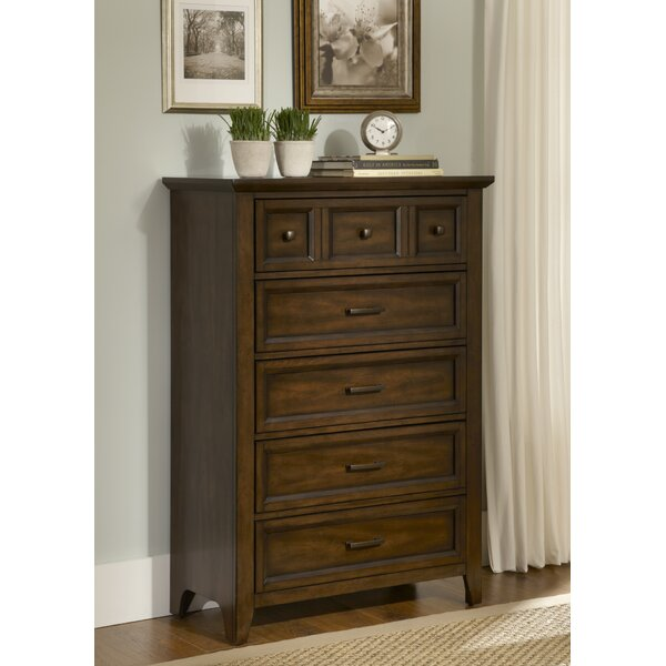 Mortemart 5 Drawer Chest by August Grove