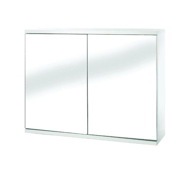 Mangan 23.6 x 17.7 Surface Mount Frameless Medicine Cabinet with 1 Adjustable Shelf