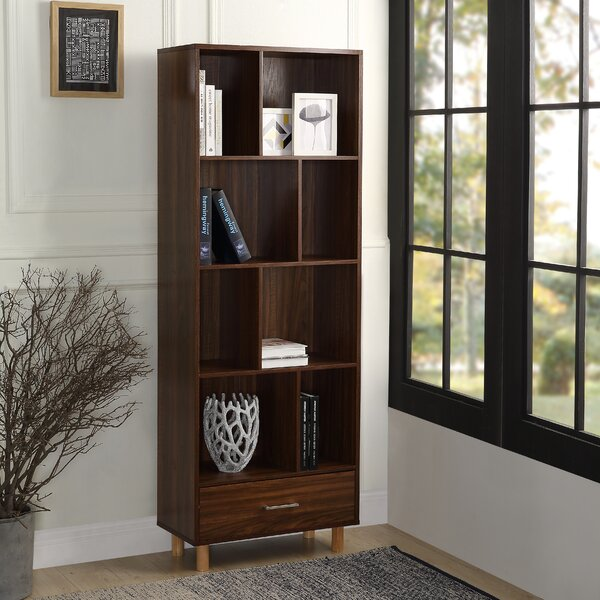 Senoia Wood Standard Bookcase By George Oliver