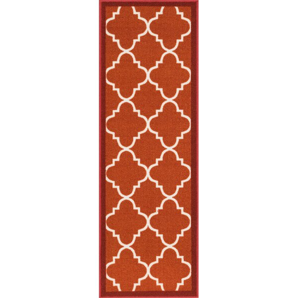 Addieville Red Area Rug by Andover Mills