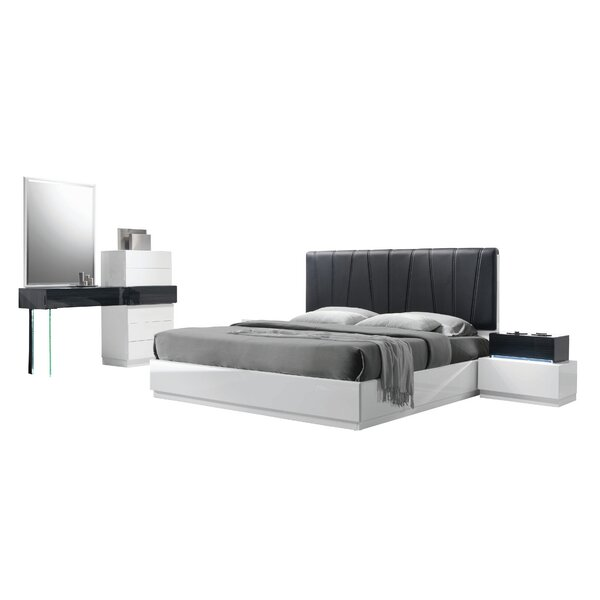 Linehan Platform 5 Piece Bedroom Set by Wade Logan