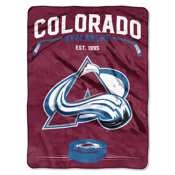 NHL Inspired Raschel Throw by Northwest Co.
