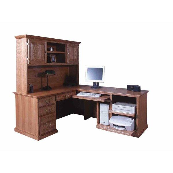 San Rafael L-Shape Executive Desk with Hutch by Loon Peak