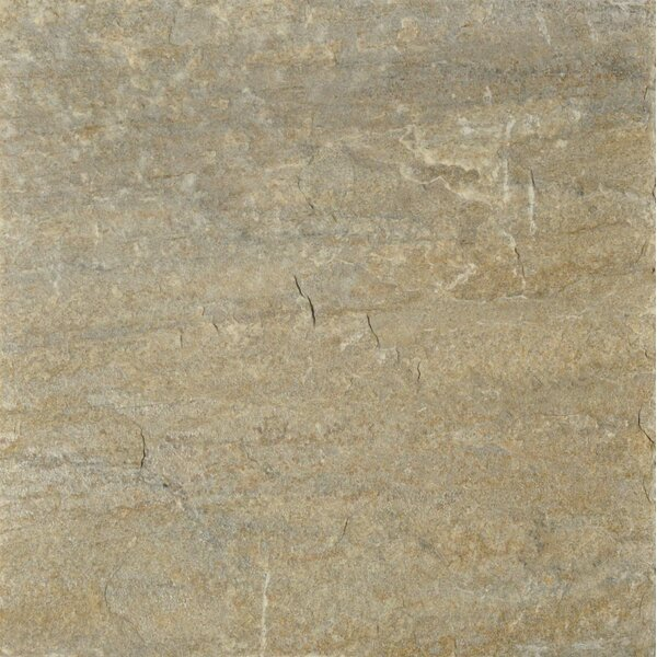 Century 12 x 12 Quartzite Stone Field Tile in Natural by The Bella Collection