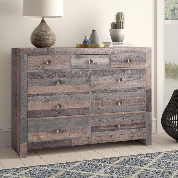 Abbey 9 Drawer Dresser by Mistana