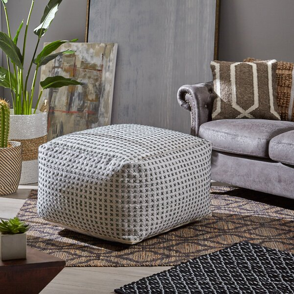 Radke Modern Pouf by Gracie Oaks