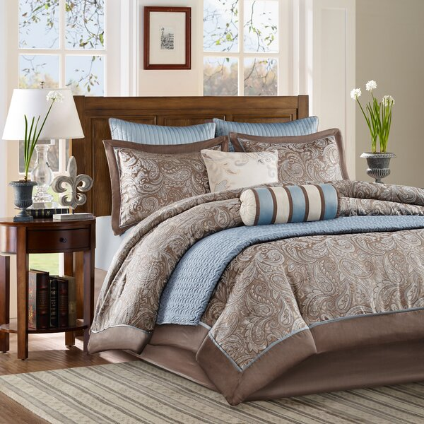 Pokanoket Comforter Set by Alcott Hill
