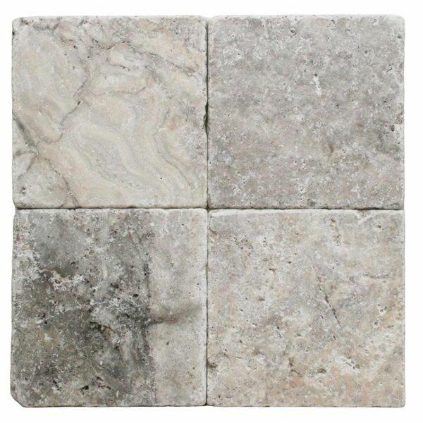 6 x 6 Travertine Marble Look Wall & Floor Tile