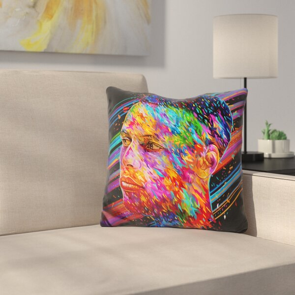 Stephen Curry Throw Pillow by East Urban Home