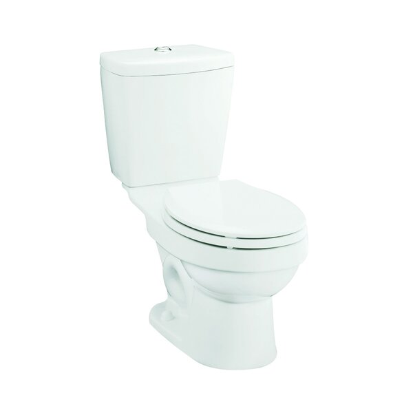 Karsten Front Dual Flush Round 2 Piece Toilet by Sterling by Kohler