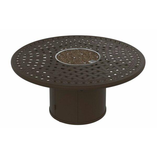 Garden Terrace Aluminum Fire Pit Table by Tropitone