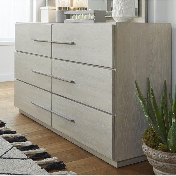 Monatuk 6 Drawer Dresser by Wrought Studio