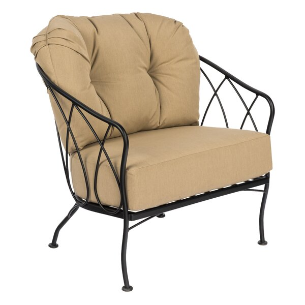 Delany Patio Chair with Cushions by Woodard