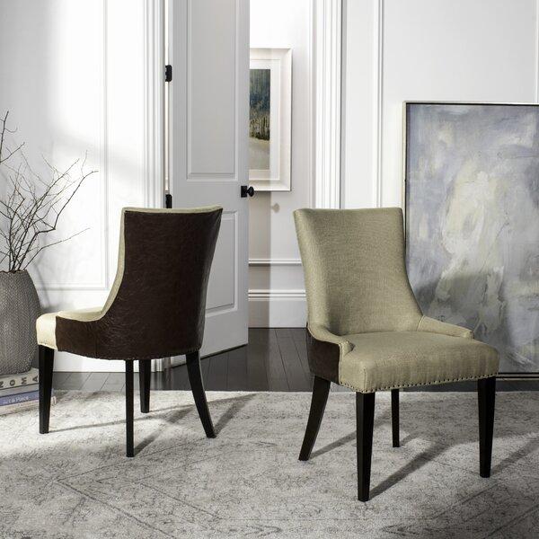 Alpha Centauri Upholstered Side Chair by Brayden Studio