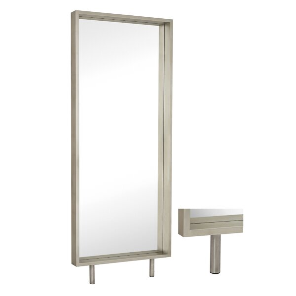 Large Contemporary Wood Framed Full Length Wall Mirror by Majestic Mirror