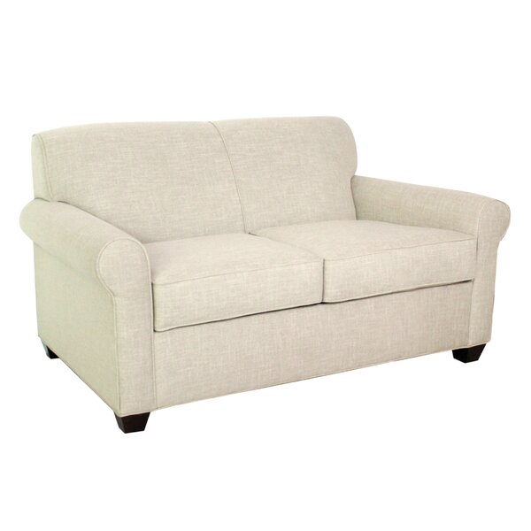 Classy Finn Standard Sleeper Loveseat by Edgecombe Furniture by Edgecombe Furniture