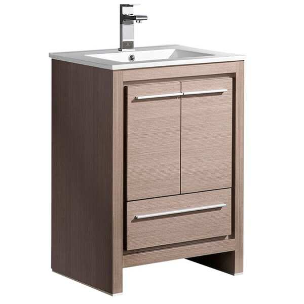Allier 24 Single Bathroom Vanity Set by FrescaAllier 24 Single Bathroom Vanity Set by Fresca