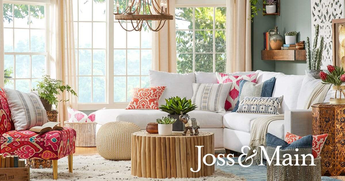 At home with whitney port joss main Home decor joss and main