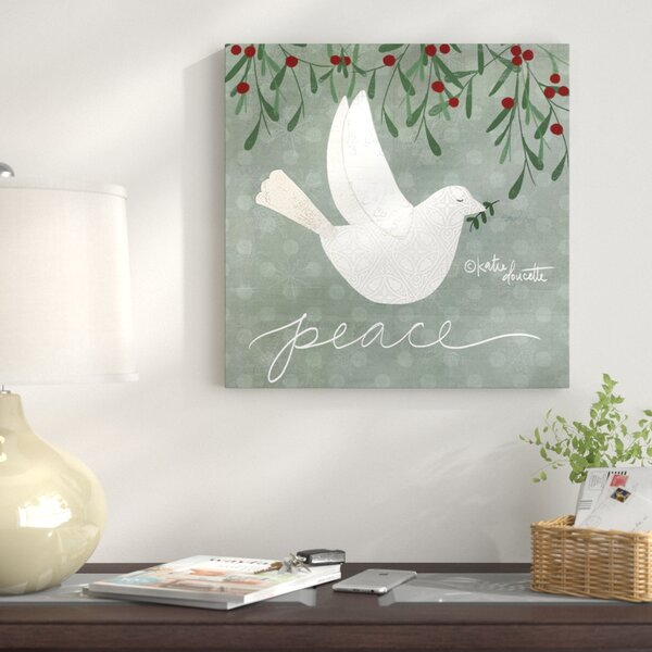 Dove Wall Art on Wrapped Canvas by The Holiday Ais