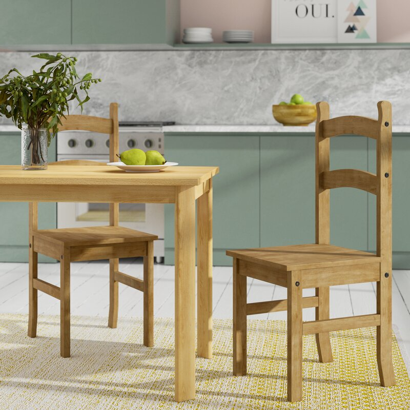 Home Haus Solid Pine Dining Chair